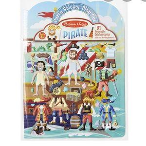 NEW Melissa & Doug Pirate Sticker Pack